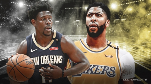 Pelicans' Jrue Holiday says relationship with Lakers' Anthony Davis is 'way bigger than basketball'