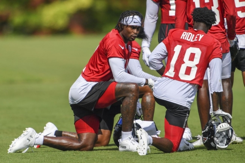 Falcons injury updates and training camp standouts on The Falcoholic podcast