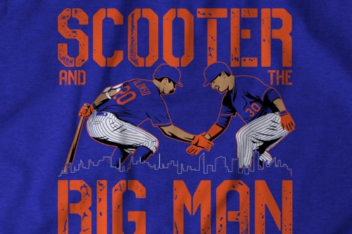Get your Scooter and the Big Man t-shirt