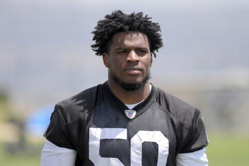 Nicholas Morrow has 'stood out' in Raiders camps most underrated position battle