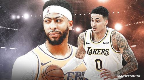Lakers' Kyle Kuzma says he learned about Anthony Davis trade overnight in China