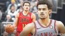 Hawks' Trae Young leaves Team USA training camp with eye infection