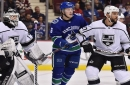 The Canucks' Brock Boeser is part of a big group of unsigned RFAs