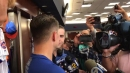 Joe Panik discusses signing with the Mets