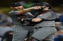 Emotional Diamondbacks' improbable late rally overcomes Dodgers