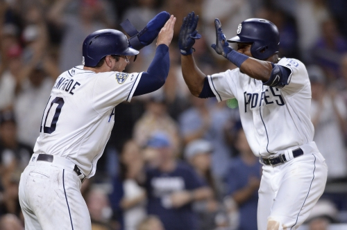 Padres beat Rockies, win first series of second half