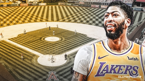 Anthony Davis to grace 'Lakers Night' on LA Dodgers game by throwing the ceremonial first pitch