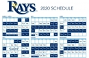 Rays pull 2020 schedule from the X-Files