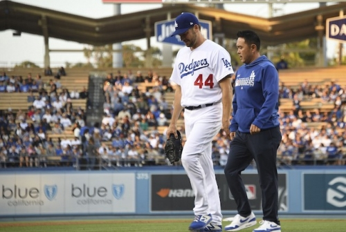 Dodgers News: Rich Hill Received Second Opinion On Flexor Strain From Red Sox Medical Staff