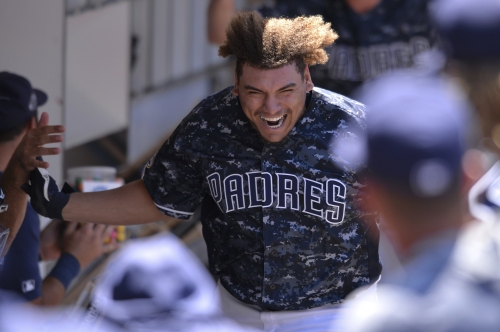 Padres rookie Josh Naylor finding his comfort level