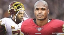 Redskins RB Adrian Peterson says missing Trent Williams is 'impacting us tremendously'