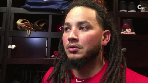 Infielder Freddy Galvis talks about joining the Cincinnati Reds, playing second base