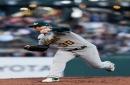 Oakland Athletics fall prey to Madison Bumgarner gem in Bay Bridge Series loss
