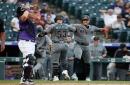 Diamondbacks club four homers in first two innings, cruise past Rockies