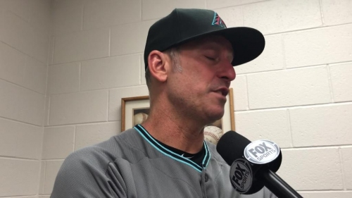 D-Backs' Torey Lovullo on early offensive outburst at Coors Field