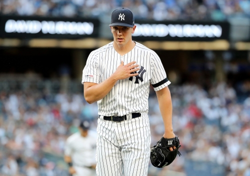 New York Yankees, Cleveland Indians announce lineups for Thursday