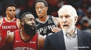 Rockets top ESPN's NBA win projections, Spurs ranked out of playoffs in loaded West
