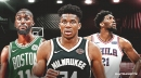 Bucks favored to win East in ESPN win projection; Celtics ahead of Sixers in playoff race