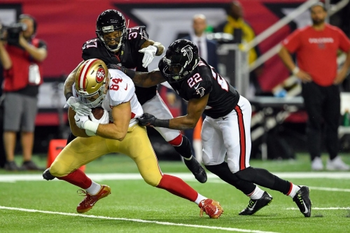 Falcons safeties Ricardo Allen and Keanu Neal appear ready to play against Jets