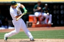 Oakland A's welcome back one catcher, DFA another