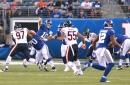 Giants 19, Bears 6: Giants take an early lead into the half