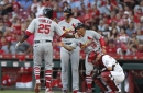 Aristides Aquino homered again, Luis Castillo pounded as Reds lose to Cardinals 13-4