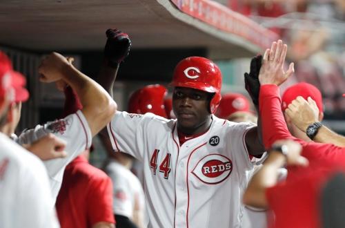Cincinnati Reds' Aristides Aquino makes more history with his 10th home run in 16 games