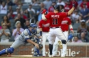 Braves place Ender Inciarte on injured list, recall Adam Duvall