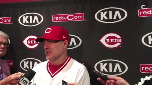 David Bell on Aristides Aquino's hot start to the season, Cincinnati Reds' win