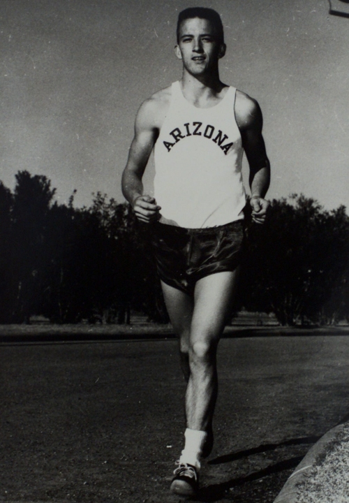 Arizona's George Young, first U.S. 4-time Olympic runner, looks back