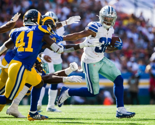 Zeke Who? Tony Pollard is taking over, for now, for the Cowboys