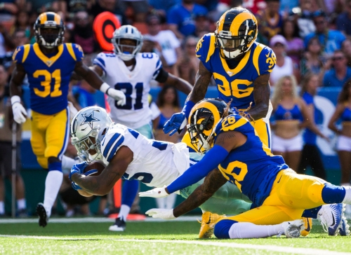 A couple of preseason droughts end for Cowboys with win over LA Rams. And they get to do it in Hawaii.