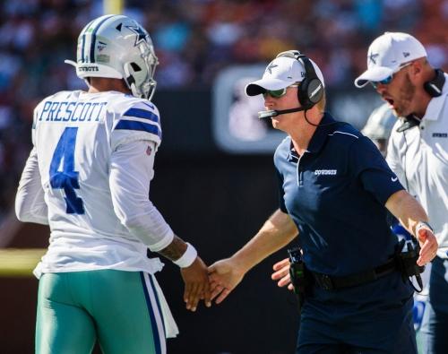 Cowboys first-team offense looks sharp as they end their preseason touchdown droughtvs. LA Rams