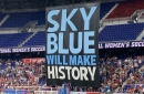 Sky Blue FC earns draw on historic afternoon