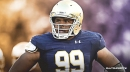 Jerry Tillery suits up for Chargers for the first time since being drafted