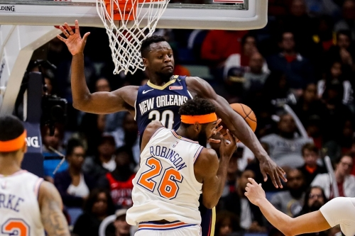 How the Knicks can maximize the Julius Randle-Mitchell Robinson pairing on defense
