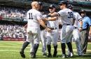 New York Yankees rallying behind Brett Gardner's bat banging antics
