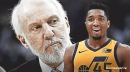 Video: Donovan Mitchell captures Gregg Popovich showing off his basketball skills at practice