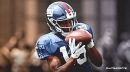Giants WR Golden Tate recovering from a concussion