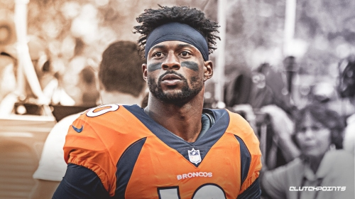 Broncos WR Emmanuel Sanders to make his return to the field on Monday