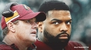 Redskins' Jay Gruden doesn't have much to say about Trent Williams' holdout
