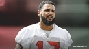 Bucs WR Mike Evans dealing with a leg injury