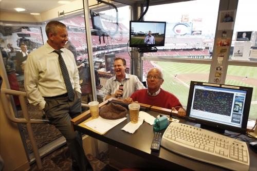Thom Brennaman says dad, legendary Cincinnati Reds broadcaster Marty, remains best in MLB