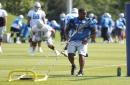 Lions' Mike Daniels, Marvin Jones back to practice; locker room gets makeover