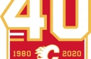 Calgary Flames Reveal Anniversary Logo