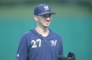Brewers activate Zach Davies from the IL for tonight's start, option Aaron Wilkerson to Triple-A
