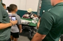 Josh Butler's dogs star at Michigan State's 'Meet the Spartans'