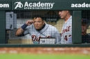 Detroit Tigers' Miguel Cabrera ejected Monday ... for talking to Jose Altuve?