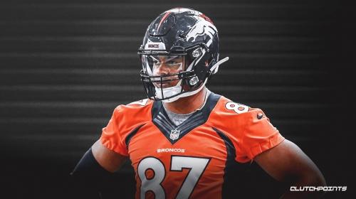 Broncos news: Denver believes Noah Fant's injury is 'mild in nature'