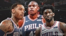 Mike Scott thinks Joel Embiid can learn a lot from Al Horford